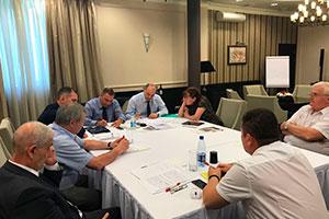 Организационное заседания членов Совета главных энергетиков нефтеперерабатывающих и нефтехимических предприятий России и СНГ